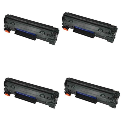HI-ビジョン HI-YIELDS R Compatible Toner Cartridge リプレイスメント for Hewlett-Packard (HP) CE285A (4-Pack) (海外取寄せ品)