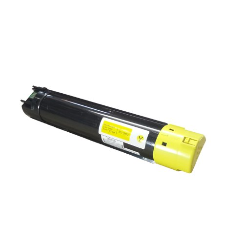 HI-ビジョン HI-YIELDS R Remanufactured Toner Cartridge リプレイスメント for デル 5130 (Yellow) works with 5120cdn, 5130cdn, 5140cdn Printers (海外取寄せ品)