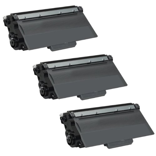 3 パック Ink4work TN750, TN-750 Remanufactured Toner Cartridge for Brother HL-6180DWT, MFC-8510DN, MFC-8710DW, MFC-8910DW, MFC-8950DW, MFC-8950DWT (海外取寄せ品)
