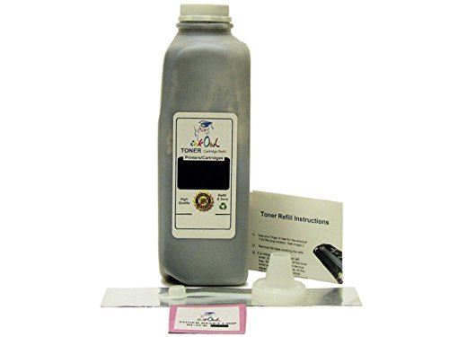 InkOwl - 1 ブラック Laser Toner Refill キット for HP CE250X (504X) with reset チップ (海外取寄せ品)