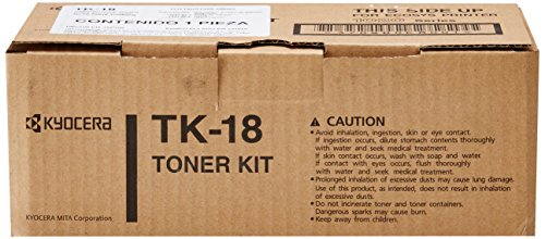 Kyocera TK-18 Toner キット for Use In Model FS1020D - 7,200 ページ Yield (海外取寄せ品)