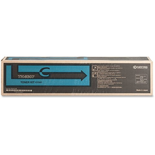 Kyocera TK8307C Toner Cartridge - シアン (海外取寄せ品)