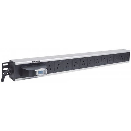 Intellinet Vertical Rackmount 12-ウェイ Power Strip - US Type (海外取寄せ品)