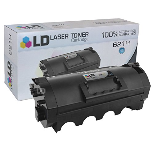 LD c Compatible リプレイスメント for Lexmark 62D1H00 (621H) ハイ Yield ブラック Laser Toner Cartridge for use in Lexmark MX710, MX711, MX810, MX811, and MX812 Series Printers (海外取寄せ品)