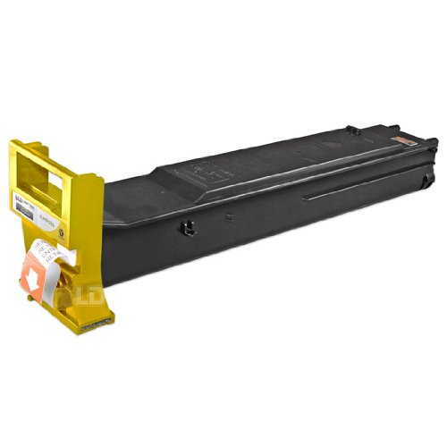 LD c Compatible イエロー Laser Toner Cartridge for Konica Minolta A0DK233 (TN318Y) for Bizhub C20 (海外取寄せ品)