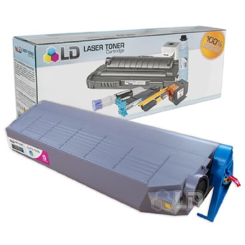 LD c Okidata C9200/C9400 Series Compatible ハイ Yield Magenta 41515206 Laser Toner Cartridge (海外取寄せ品)