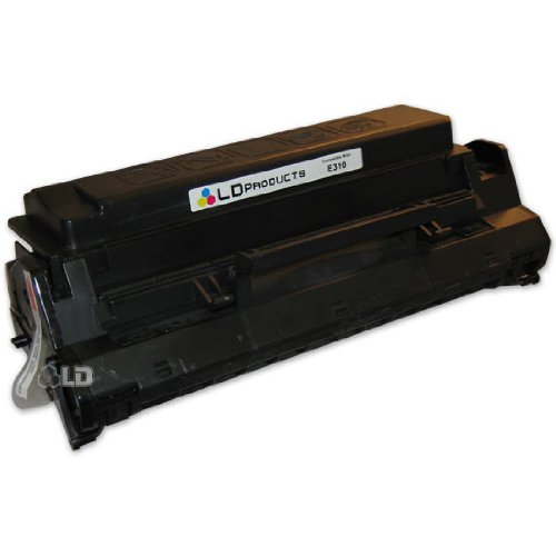 LD c Remanufactured ブラック Laser Toner Cartridge for Lexmark 13T0101 (E310, E312 Series Printers) (海外取寄せ品)