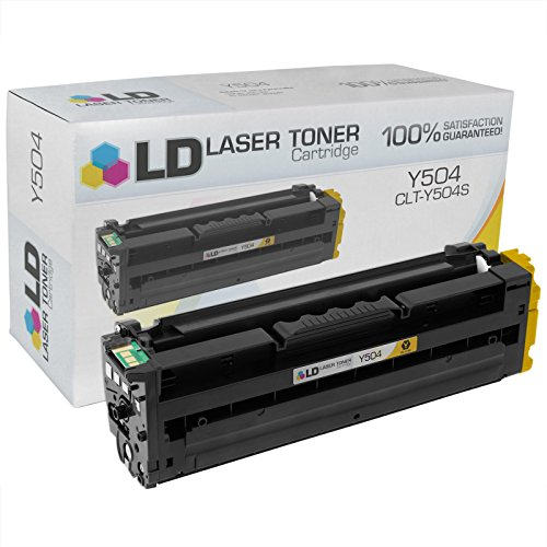 LD c Compatible リプレイスメント for サムスン CLT-Y504S イエロー Laser Toner Cartridge for use in サムスン CLP-415NW, CLX-4195FN, CLX-4195FW, SL-C1810W, and SL-C1860FW Printers (海外取寄せ品)