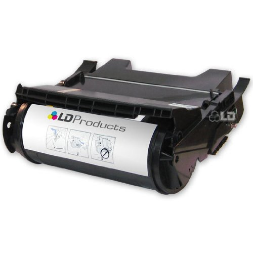 LD c Remanufactured エクストラ ハイ Yield ブラック Laser Toner Cartridge for Lexmark X644X11A (X644e, X646e Series Printers) (海外取寄せ品)