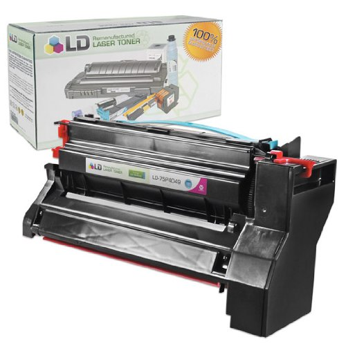 LD c Remanufactured ハイ Yield Magenta Laser Toner Cartridge for IBM 75P4049 (海外取寄せ品)
