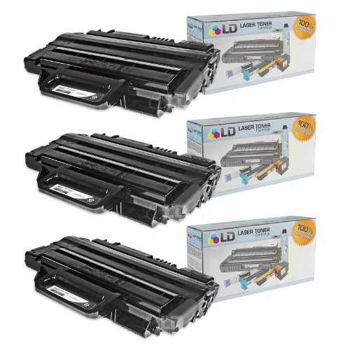 LD c Compatible Ricoh 406212 (Type SP-3300A) セット of 3 Laser Toner Cartridges (海外取寄せ品)