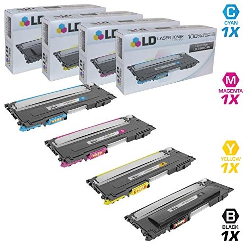 LD c Compatible リプレイスメント for デル 1230c/1235c セット of 4 Laser Toner Cartridges Inlcudes: 1 330-3012 ブラック, 1 330-3015 シアン, 1 330-3014 Magenta, and 1 330-3013 イエロー (海外取寄せ品)