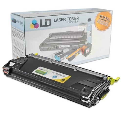 LD c Remanufactured ハイ Yield イエロー Laser Toner Cartridge for IBM 39V0313 (InfoPrint カラー 1534 and 1634 Series) (海外取寄せ品)