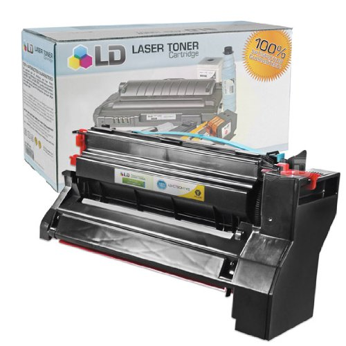 LD c Remanufactured ハイ Yield イエロー Laser Toner Cartridge for Lexmark C780H1YG (海外取寄せ品)