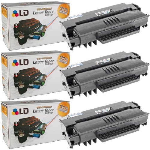 LD c Compatible Xerox 106R01379 / 106R1379 セット of 3 ハイ Yield ブラック Laser Toner Cartridges for use in Xerox Phaser 3100MFP Series (海外取寄せ品)