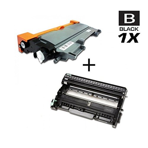 AZ サプライ c Compatible リプレイスメント Toner Cartridge for Brother TN450 + DR-420 - ブラック Toner plus Drum for use in DCP-7060D, DCP-7065DN, HL-2220, HL-2230, HL-2240, HL-2240D, HL-2270DW, HL-2280DW, MFC-7360N, MFC-7460DN, MFC-7860 (海外取寄せ品)