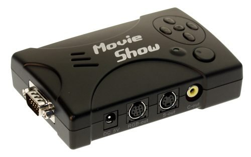 Coolgear MovieShow PC to TV Converter - Convert any HD-15 ビデオ to スタンダード S-ビデオ Composite (海外取寄せ品)
