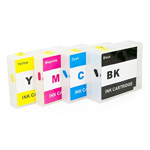 CISinks Empty Refillable Ink Cartridge セット for Canon PGI-2200 XL MAXIFY IB4020 MB5020 MB5320 (海外取寄せ品)
