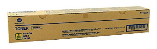Konica Minolta Part # TN-319Y OEM イエロー Toner Cartridge - 26.000 ページ (A11G230) (海外取寄せ品)