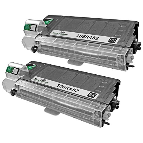 Speedy Inks - 2pk Compatible Xerox 106R482 ブラック Laser Toner Cartridge for use in WorkCentre XL2120, XL2120 デジタル, XL2130, XL2130f, XL2130f デジタル, XL2140, XL2140df, XL2140df デジタル (海外取寄せ品)