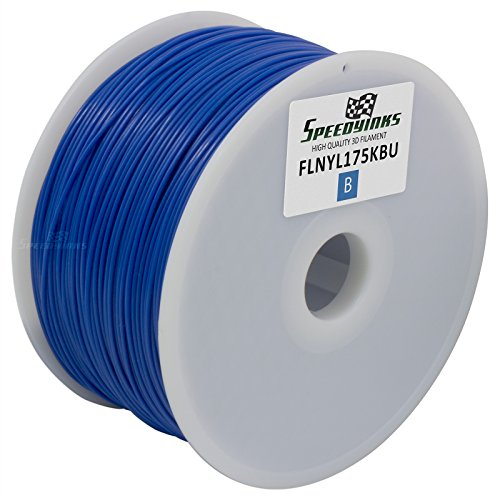 Speedy Inks - 1.75mm 1kg ナイロン ブルー Filament for 3D Printers (海外取寄せ品)
