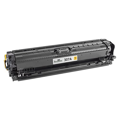Speedy Inks - Remanufactured リプレイスメント for HP 307A CE742A イエロー Toner Cartridge for use in HP カラー LaserJet プロ CP5225,HP カラー LaserJet プロ CP5225dn,HP カラー LaserJet プロ CP5225n (海外取寄せ品)