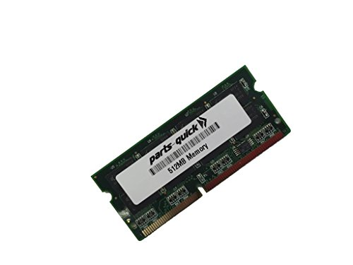 512MB Memory RAM for Kyocera ECOSYS P2035d Printer (PARTS-クイック BRAND) (海外取寄せ品)
