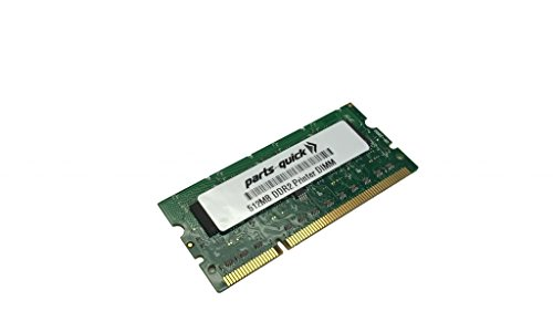 512MB Memory RAM for Kyocera ECOSYS FS-C5150DN Printer (PARTS-クイック BRAND) (海外取寄せ品)