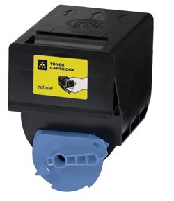 Compatible Toner Cartridge for Canon 0455B003AA, GPR23,イエロー (海外取寄せ品)