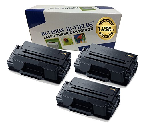 HI-ビジョン Compatible MLT-D203L / XAA ハイ Yield Laser Toner Cartridge for サムスン ProXpress M3320ND, M3370FD, SL-M3820DW, M3870FW, M4020ND, M4070FR Printer (203L, ブラック 3 Pack) (海外取寄せ品)