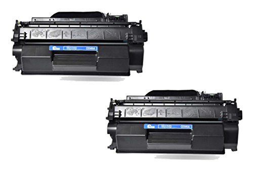 2/パック CE505A 05A ブラック Toner Cartridge for HP Compatible with: LaserJet P2035 P2035n P2050 P2055 (海外取寄せ品)