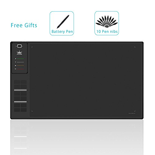 Huion Giano Huge Wireless デジタル グラフィック Drawing Tablet with 12 エクスプレス キー 8GB MicroSD Card-WH1409 (海外取寄せ品)