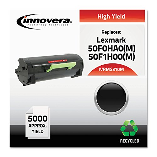 Innovera - Ms310M Compatible Reman 50F0Ha0 ハイ-Yield Toner, 5000 ページ-Yield, ブラック (海外取寄せ品)