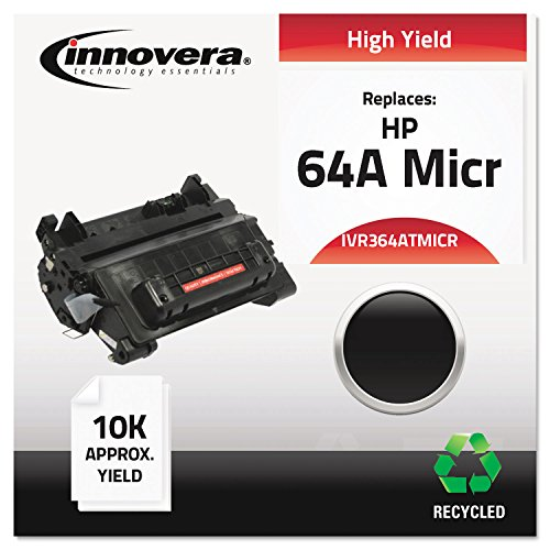 364ATMICR Remanufactured, CC364 (64A MICR) MICR Toner, 10000 Yield, ブラック (海外取寄せ品)