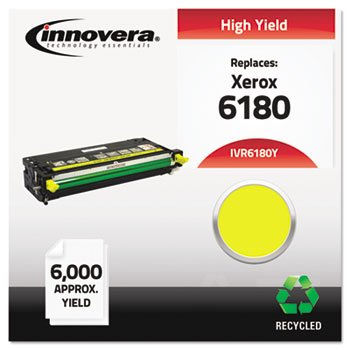 6180Y Remanufactured, 113R00725 (Phaser 6180) Toner, 6000 Yield, イエロー (海外取寄せ品)