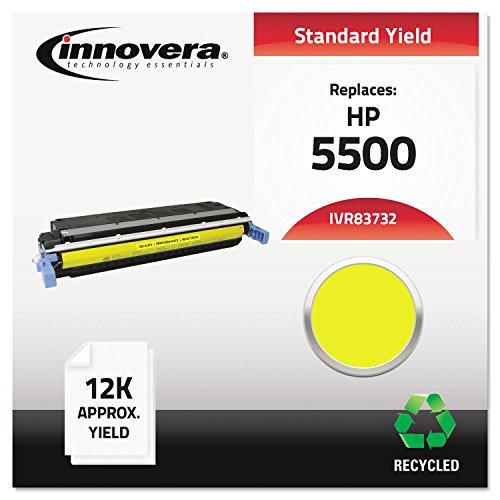IVR83732 C9732A Innovera Compatible C9732A - プリント Cartridge For カラー Laserjet 5500, 5550 Series, イエロー (海外取寄せ品)