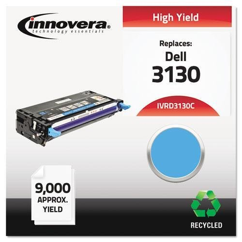 INNOVERA D3130C Remanufactured 330-1199 (3130) Toner, 9000 Yield, シアン (海外取寄せ品)