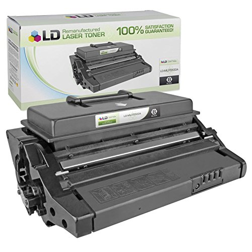 LD c Remanufactured サムスン ML-2550DA ブラック Laser Toner Cartridge for use in サムスン ML-2550, ML-2551N, & ML-2552W Printers (海外取寄せ品)