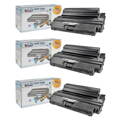 LD c Compatible Xerox 106R01530 / 106R1530 セット of 3 ブラック Laser Toner Cartridges for use in Xerox WorkCentre 3550 Printer (海外取寄せ品)