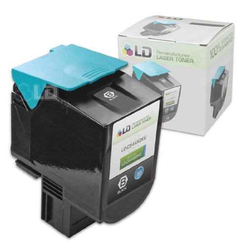 LD c Remanufactured エクストラ ハイ Yield ブラック Laser Toner Cartridge for Lexmark C544X2KG (海外取寄せ品)