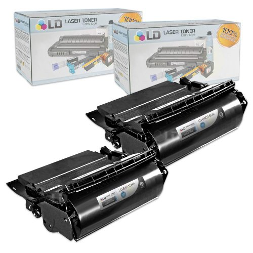 LD Compatible Lexmark 64015HA セット of 2 ブラック Laser Toner Cartridges for the T644tn, T642dtn, T640, T642tn, T640dtn, T644dn, T640tn, T644n, T642dn, T642n, T640dn, T644, T640n, T644dtn, T642 Printers (海外取寄せ品)