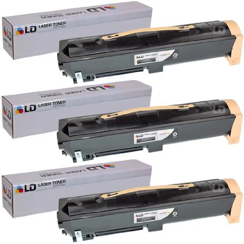 LD c Compatible デル 330-3110 (U789H) セット of 3 ブラック Laser Toner Cartridges for your デル 7330dn Laser Printer (海外取寄せ品)