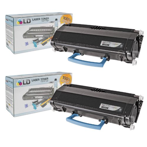 LD c Compatible デル 330-5210 (U902R) セット of 2 ブラック Toner Cartridges for your デル 3330dn Printers (海外取寄せ品)