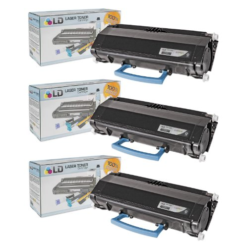 LD c Compatible デル 330-5210 (U902R) セット of 3 ブラック Toner Cartridges for your デル 3330dn Printers (海外取寄せ品)