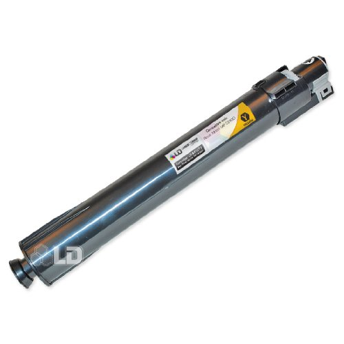 LD c Compatible リプレイスメント for Ricoh 841277 イエロー Laser Toner Cartridge for use in Ricoh Aficio, Lanier, and Gestetner Printers (海外取寄せ品)