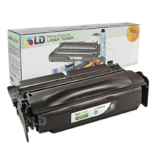 LD c Remanufactured IBM ハイ Yield ブラック 75P6052 Laser Toner Cartridge. (InfoPrint 1422) (海外取寄せ品)