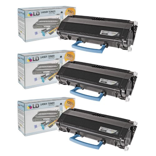 LD c Compatible デル 330-8986 (R2PCF) セット of 3 ブラック Toner Cartridges for your デル 3333dn/3335dn Printers (海外取寄せ品)