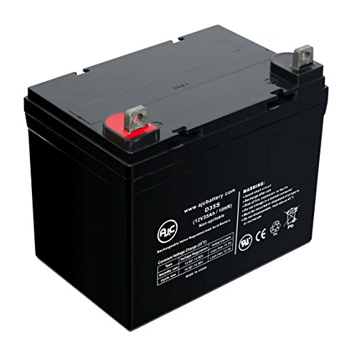 Alpha Technologies CFR5000E 12V 35Ah UPS バッテリー - This is an AJC ブランド Brand リプレイスメント (海外取寄せ品)