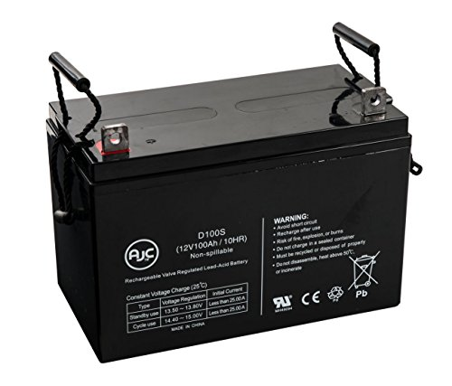 Power PRC-12100X, PRC12100X 12V 100Ah UPS バッテリー - This is an AJC ブランド Brand リプレイスメント (海外取寄せ品)