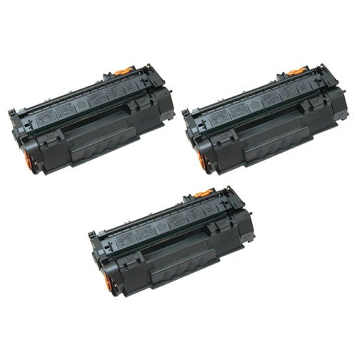 Amsahr Remanufactured Toner Cartridge リプレイスメント for HP CE278A (Black, 3-Pack) (海外取寄せ品)